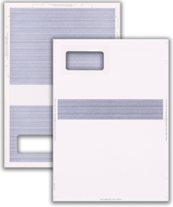 Self-Seal Mailer with Hatched Panel on Inside