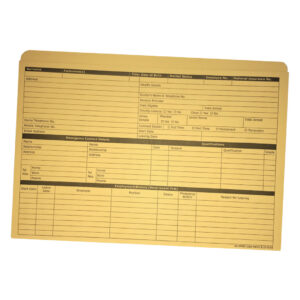 Personnel Wallet Yellow