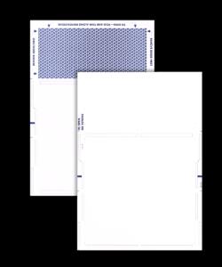 Machine-Seal Z-Fold Form